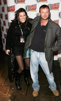 Kate Magowan and John Simm at the Shockwaves NME Awards.