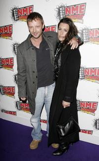 John Simm and Kate Magowan at the Shockwaves NME Awards.