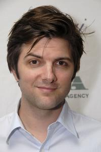 Adam Scott at the Gersh Agency pre-emmy party.