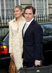 Rob Brydon and Guest at the Matt Lucas and Kevin McGee's civil partnership ceremony.