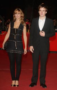 Elodie Navarre and Gregoire Leprince-Ringuet at the premiere of