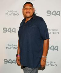 Omar Benson Miller at the Hotel 944 at Eden Roc Renaissance Miami Beach.