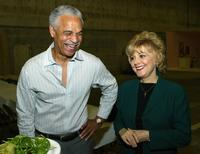 Candice Azzara and Ron Glass at the