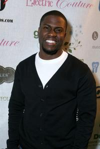 Kevin Hart at the Retreat premiere Gift Lounge At Super Bowl XLII.