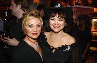 Orfeh and Linda Hart at the after party of the Opening of