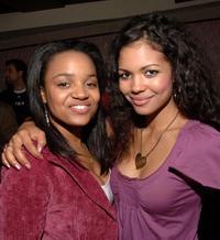 Kyla Pratt and Jennifer Freeman at the LA Fashion Week Party.