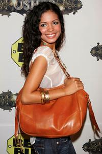 Jennifer Freeman at the launch party for Usher's