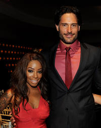 Kendall Lake and Joe Manganiello at the after party of the California premiere of