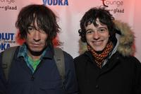 Director Alexis Dos Santos and Fernando Tielve at the Sundance Glamdance party during the 2009 Sundance Film Festival.
