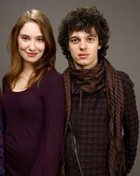 Deborah Francois and Fernando Tielve at the 2009 Sundance Film Festival.