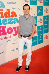 Fernando Tielve at the premiere of