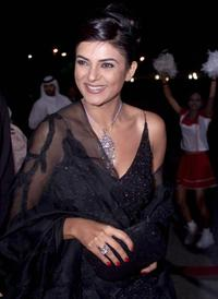 Sushmita Sen at the Bollywood Zee Cine Awards ceremony.