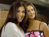 Sushmita Sen and Katrina Kaif at the launch of