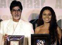 Amitabh Bachchan and Bipasha Basu at the release of the soundtrack of