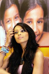 Bipasha Basu at the launch of SOS (Save Our Souls) Villages of India greeting cards.