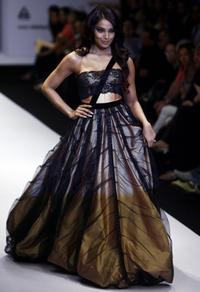 Bipasha Basu at the Wills Lifestyle India Fashion Week (WIFW).