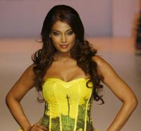 Bipasha Basu at the Lakme Fashion Week.
