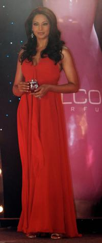 Bipasha Basu at the launch ceremony of Alcome Perfumes and Cosmetics.