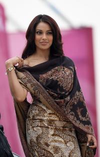 Bipasha Basu at the Qatar Masters Golf Tournament.