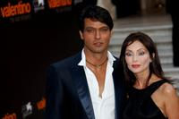Gabriel Garko and Isabella Orsini at the premiere of