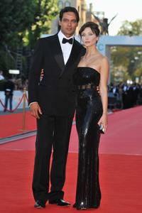 Gabriel Garko and Isabella Orsini at the opening ceremony and premiere of