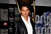 Gabriel Garko at the World Music Awards 2008.