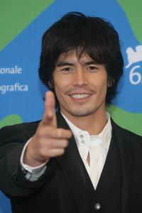 Hideaki Ito at the photocall of
