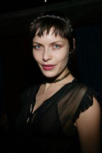 Rie Rasmussen at the launch party of the new photo book