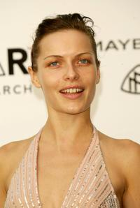 Rie Rasmussen at the Cinema Against AIDS 2004 during the 57th Cannes Film Festival.