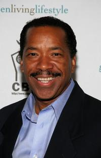 Obba Babatunde at the Green Pre-Emmy gifting lounge party.