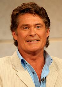 David Hasselhoff at the show