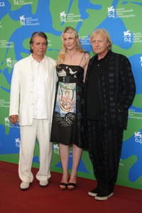 Edward James Olmos, Daryl Hannah and Rutger Hauer at the photocall of