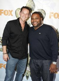 Cole Hauser and Anthony Anderson at the premiere of