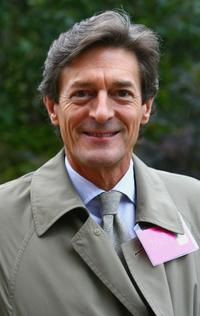 Nigel Havers at the Chelsea Flower Show.