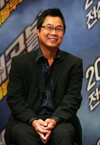 James Wong at the press conference of