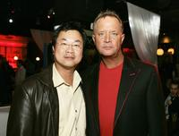 James Wong and David Ellis at the after party of the premiere of