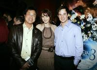 James Wong, Mary Elizabeth Winstead and Ryan Merriman at the premiere of
