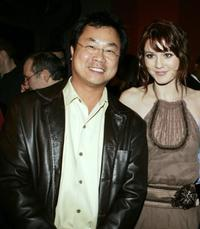 James Wong and Mary Elizabeth Winstead at the premiere of