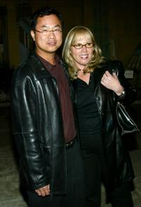 James Wong and Tina Wong at the screening of