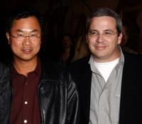 James Wong and Glen Morgan at the premiere of