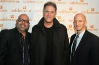 Michael Palladino, Allan Havey and David Nish at the Safe Horizon's
