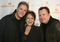 Allan Havey, Estee Adoram and Colin Quinn at the Safe Horizon's
