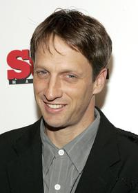 Tony Hawk at the launch of