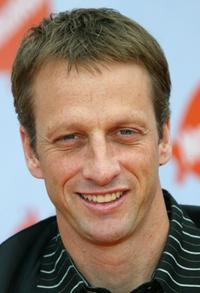 Tony Hawk at the Nickelodeon's 17th Annual Kids Choice Awards.