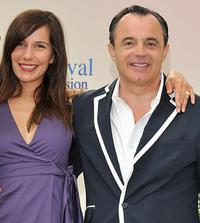 Zoe Felix and Marc Rioufol at the photocall of television series