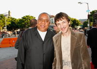 Barry Shabaka Henley and John Hawkes at the premiere of