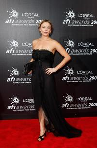 Leeanna Walsman at the L'Oreal Paris 2008 AFI Awards.