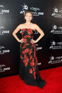 Leeanna Walsman at the L'Oreal Paris 2008 AFI Industry Awards.