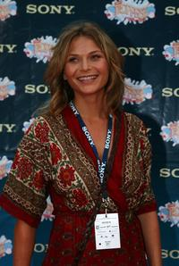 Leeanna Walsman at the Sony Tropfest 2007 short Film Festival.