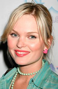 Sunny Mabrey at the GQ Lounge Los Angeles Celebration of